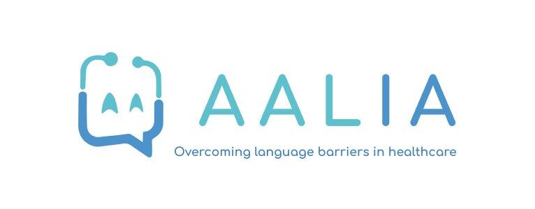 AaliaTech est une application qui traduit les questions du professionnel de santé dans la langue natale du patient. Crédit: Aalia.Tech