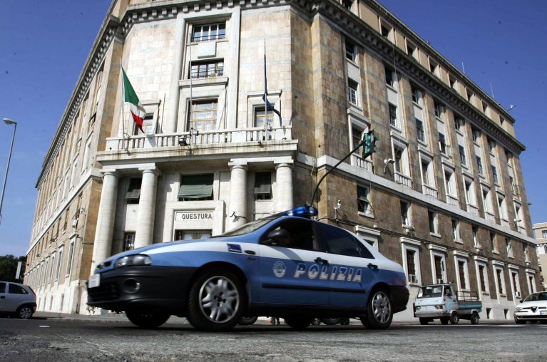 Police headquarters in Genoa | Credit: ANSA/ LUCA ZENNARO