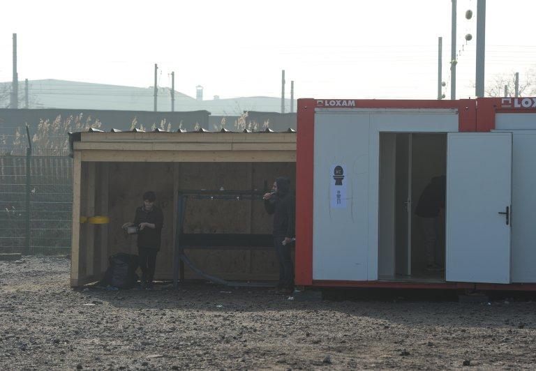 مرافق صحية في غراند سانت في 2015. الصورة: مهدي شبيل