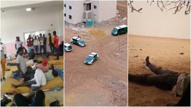 """En Algérie, plusieurs personnes ont alerté la rédaction des Observateurs de France 24 sur de nouvelles arrestations à Oran et des opérations de """"refoulement"""" vers le Niger. Crédit : DR"""
