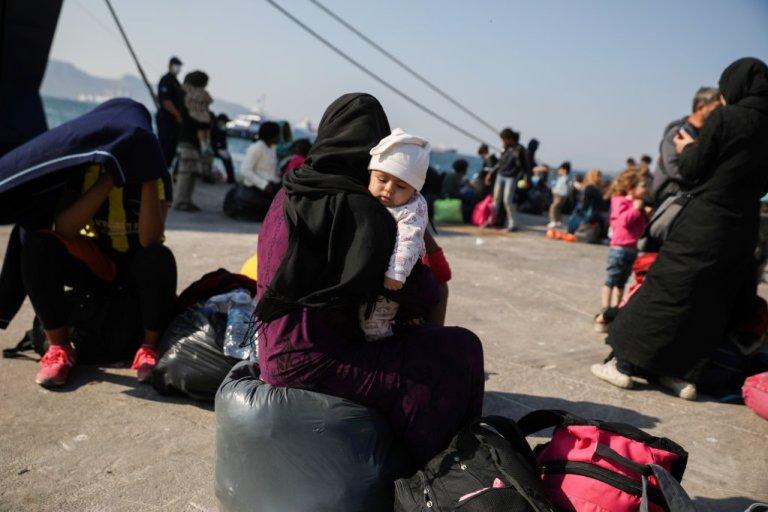 عکس از آرشیف/ صدها پناهجو و مهاجر در جریان اخیر هفته گذشته وارد جزایر یونان شده اند.