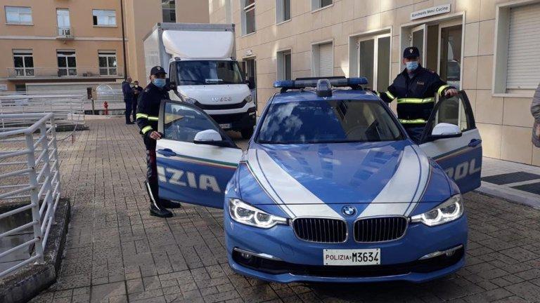 A police vehicle in Taranto, Italy | Photo:ARCHIVE/ANSA/UFFICIO STAMPA POLIZIA DI STATO