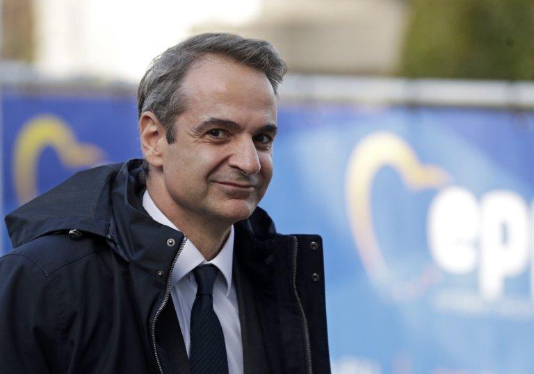 ANSA / رئيس الوزراء اليوناني كيرياكوس ميتسوتاكيس، قبيل انعقاد القمة الأوروبية في بروكسل في 12 كانون الأول/ ديسمبر 2019. المصدر: إي بي إيه / ستيفاني لوكوكو.