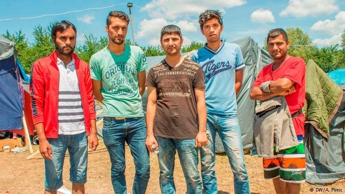 Des réfugiés pakistanais en Bosnie | Photo: DW / A Puri