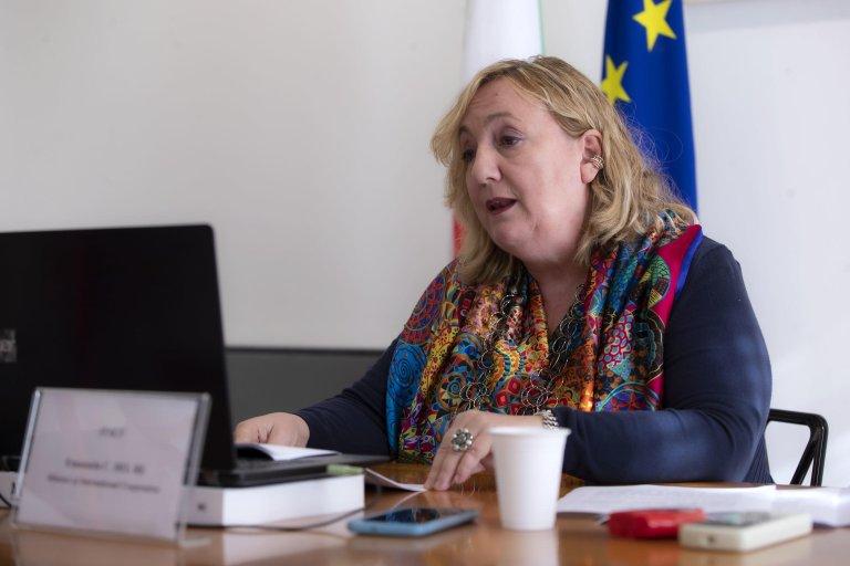 Italy's deputy foreign minister Emanuela Del Re | Photo: ANSA/MASSIMO PERCOSSI