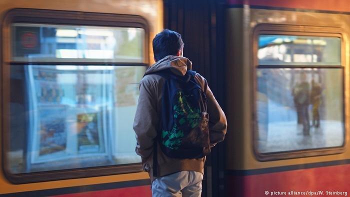 U Bahn stop