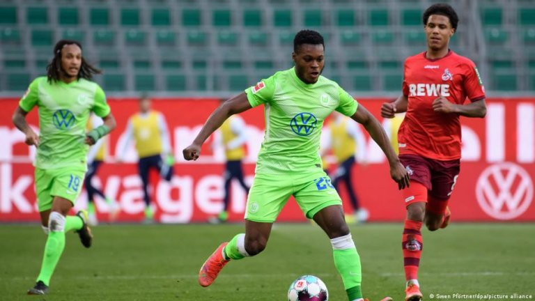 Ridle Baku: 'It's not easy for a Black guy to become a professional footballer' | Photo: Swen Pförtner/dpa/picture-alliance