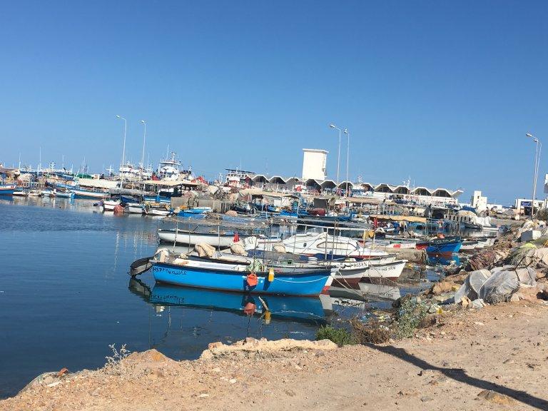 صورة لأحد الموانئ التونسية/ أرشيف/ مهاجر نيوز