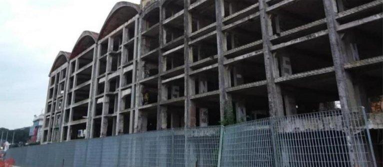 The former penicillin factory where migrants are now living | Credit: Alterego Fabbrica dei Diritti