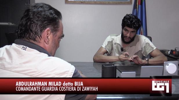 """قائد خفر السواحل الليبي عبد الرحمن الميلاد """"البيجا"""" متهم بالاتجاد بالبشر وتهريب المهاجرين وإغراق قواربهم"""