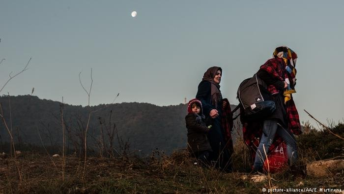 Between January and May 2017, a total of 6,142 people arrived on the Greek islands of Lesbos, Chios and Samos | Photo: Picture-alliance/AA/E.Martinena
