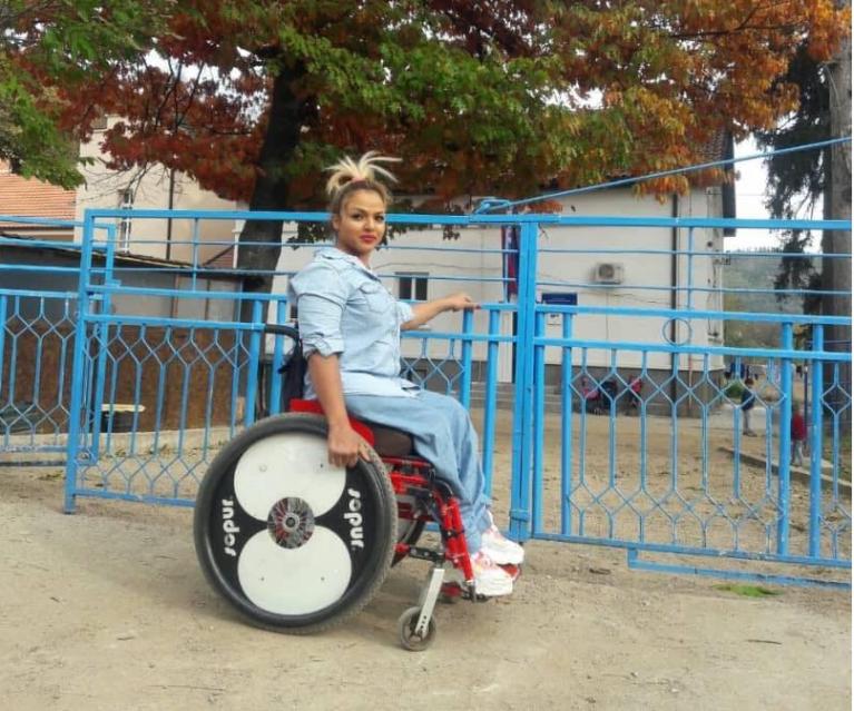 Mahana Jami dans le centre de réfugiés de Bosilegrad. Crédit : DR