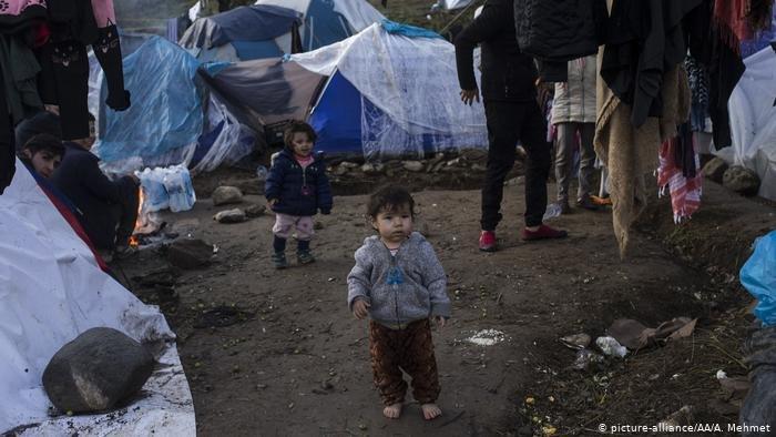 picture-alliance/AA/A. Mehmet | ألمانيا تريد تقديم مساعدات مادية لليونان من اجل اللاجئين الذين يتم إرجاعهم إلى اليونان / صورة من الأرشيف