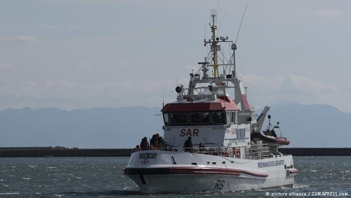 From file: A Greek coast guard vessel | Photo: picture-alliance/Zumapress