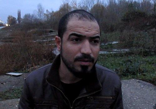 أحمد يونس - لاجئ عراقي. بعدسة: عماد حسن  ـ مهاجر نيوز