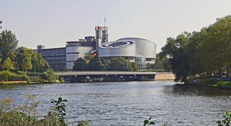 مقر دادگاه حقوق بشر اروپا در ستراسبورگ، در شرق فرانسه. عکس از پیکسابای