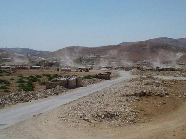 عرسال على الحدود اللبنانية السورية