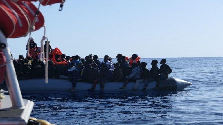Crédit photo : Avra Fialas / SOS MEDITERRANEE