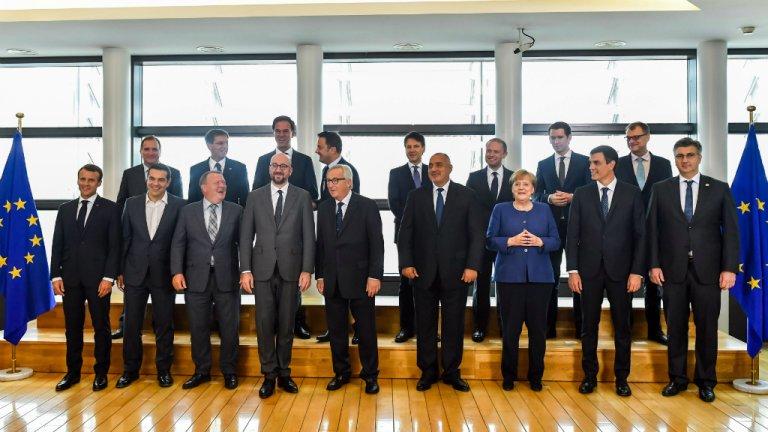 Geert Vanden Wijngaert, AFP |Le Conseil européen se tient à Bruxelles les 28 et 29 juin 2018.
