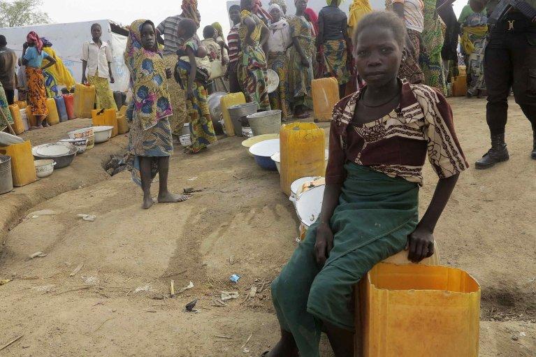 REUTERS/Bate Felix Tabi Tabe |Des réfugiés dans le camp de Minawao dans le nord du Cameroun, le 18 février 2015.