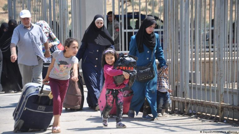 While Assad's forces have largely prevailed in Syria's civil war, Amnesty says returning is still dangerous for those who fled   Photo: Picture-alliance