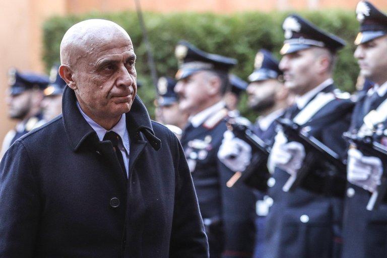 Italian Interior Minister, Marco Minniti