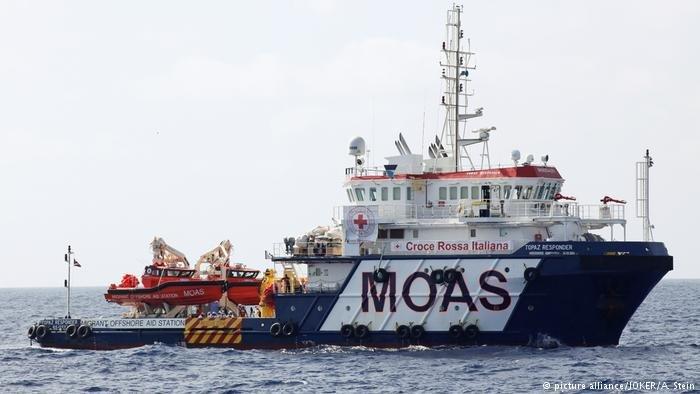 أرشيف| سفينة إنقاذ أوروبية