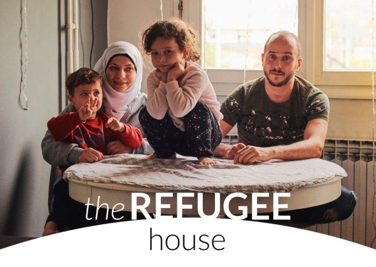 غلاف الدليل السكن للمهاجرين الذي نشرته مفوضية اللاجئين والجمعية الإيطالية للدراسات القانونية حول الهجرة والاتحاد الإيطالي للسكن.