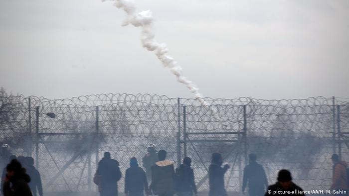 picture-alliance/AA/H. M. Sahin |وضع متوتر للغاية على المعابر الحدودية بين تركيا واليونان