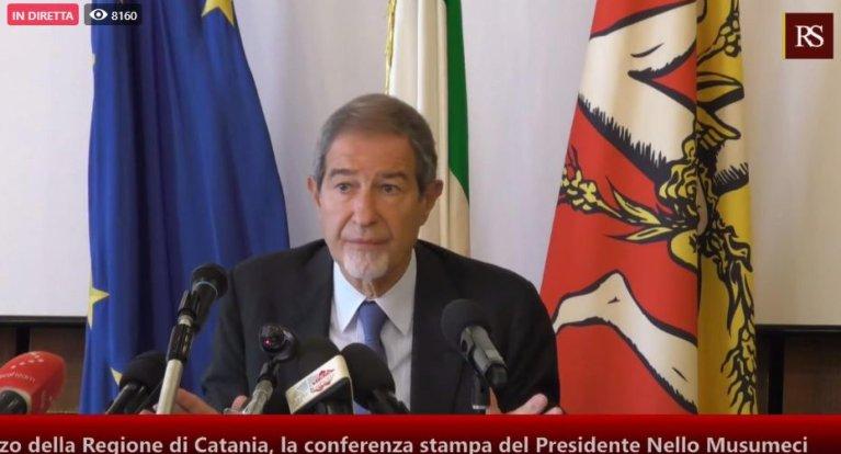 Nello Musumeci is Sicily's regional governor | Photo: ANSA