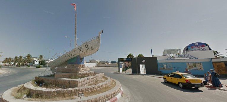 مدينة قابس. الصورة: خرائط غوغل