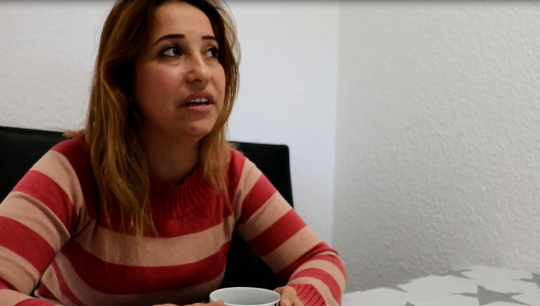 Basma, a Syrian refugee