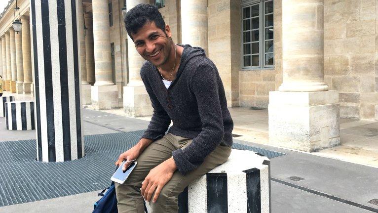 Abdul Saboor a obtenu la protection subsidiaire de l'Ofpra à son arrivée en France en octobre 2017. Crédit : InfoMigrants
