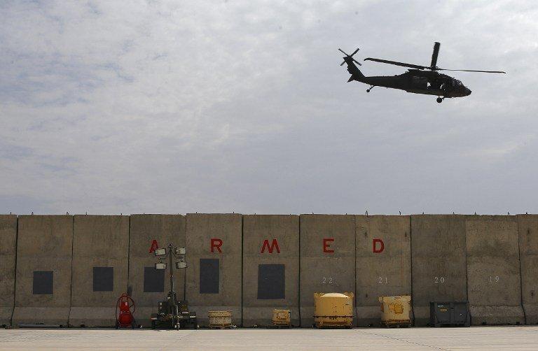 Photo AFP / ALEXANDER KLEIN |L'aéroport de Kaboul, le 18 août  2012.