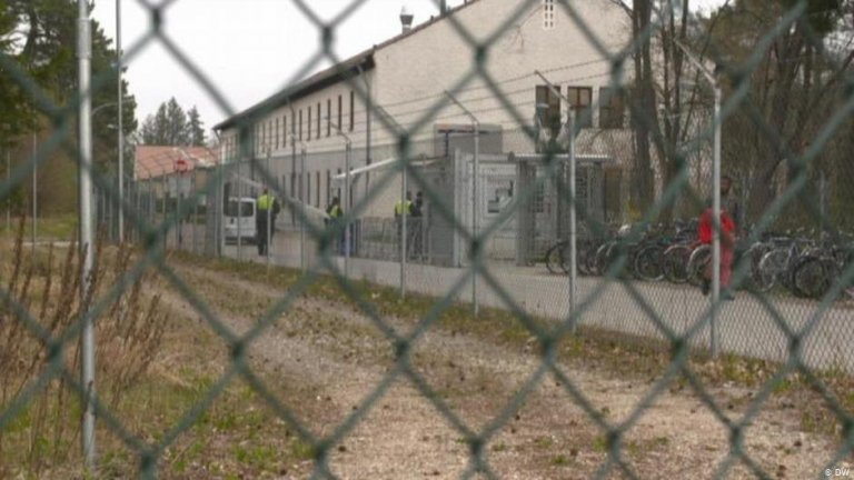 Fürstenfeldbruck asylum processing center near Munich, Germany | Photo: DW