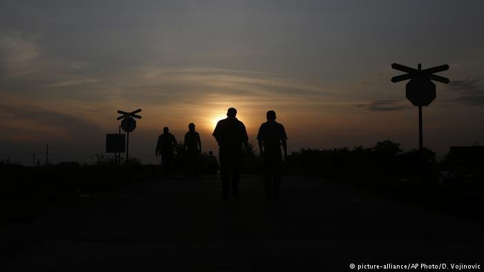 Migrants near the Serbian-Hungarian border on their way to Germany | Credit: Picture-alliance/AP Photo/D.Vojinovic