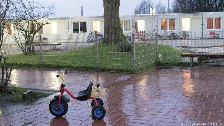 Centre d'hébergement pour migrants à Bochum, en Allemagne.  Photo: Picture Alliance/R. B. Fishman
