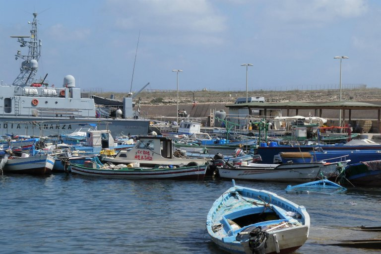From file: The port of Lampedusa during a transfer of migrants   Photo: Elio Desiderio / Archive / ANSA