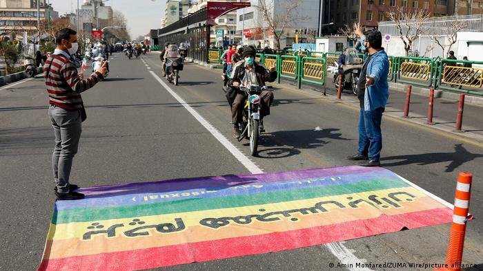 ایران: پرچم همجنسگرایان