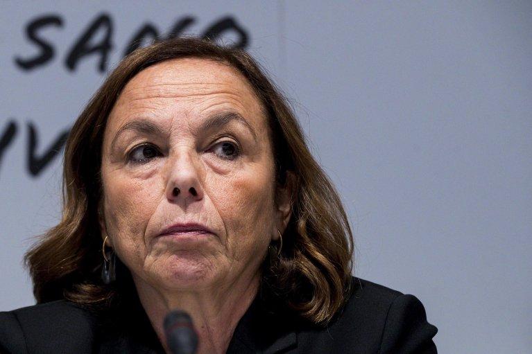 ANSA / وزيرة الداخلية الإيطالية لوتشيانا لامورغيزي. المصدر: أنسا / إنجيلو كاركوني.
