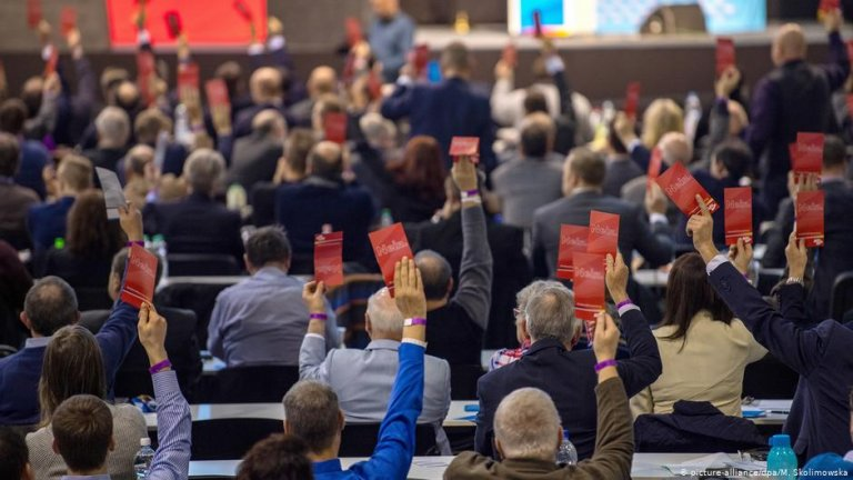 Populist parties like the Alternative for Germany are expected to gain more seats in the European Parliament | picture-alliance/M. Skolimowska