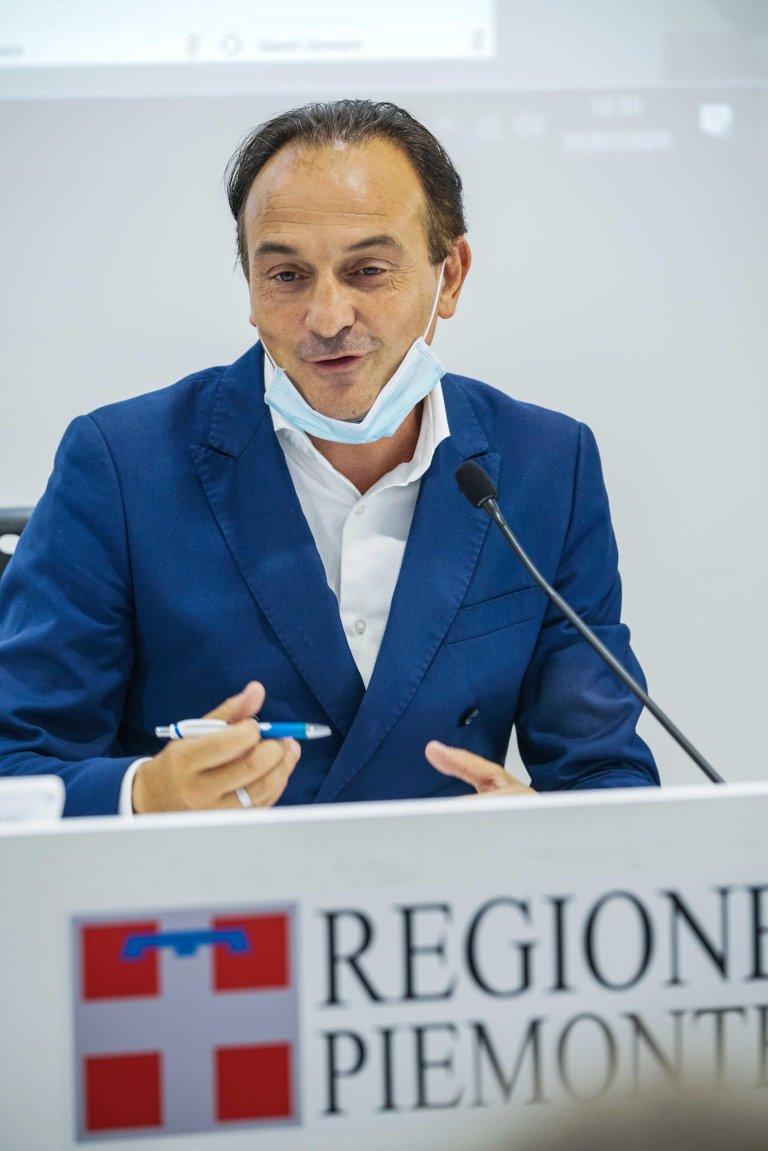 Alberto Cirio, governor of Piedmont | Photo: ANSA/Tino Romano