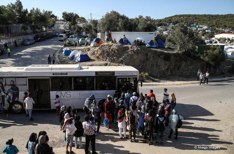 أوضاع كارثية في المخيمات اليونانية