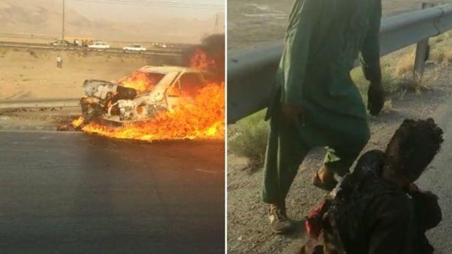 © . |دولت ایران مسئولیت تیراندازی به خودرو حامل اتباع افغانستان را پذیرفت.