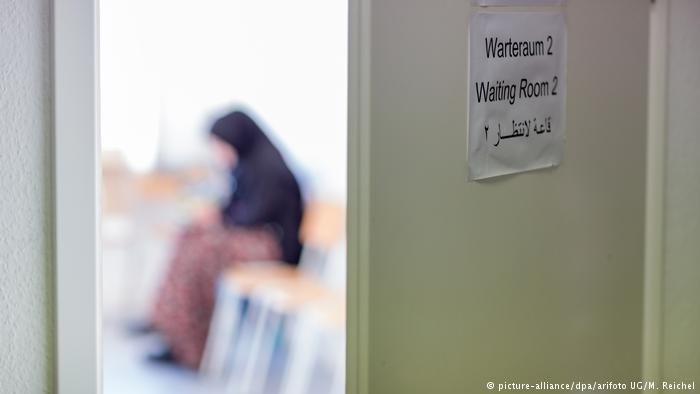 یک متقاضی پناهندگی در آلمان، یکی از کشورهای عضو اتحادیه اروپا