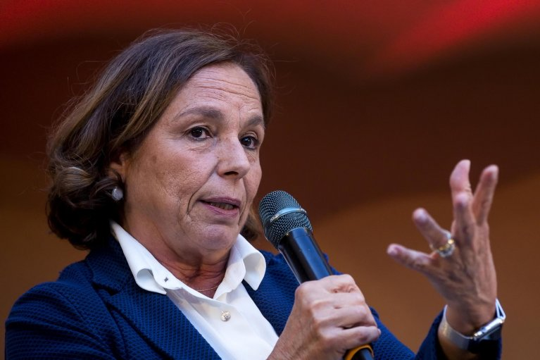 ANSA / وزيرة الداخلية الإيطالية لوتشيانا لامورغيزي. المصدر: أنسا / أنجيلو كاركوني.