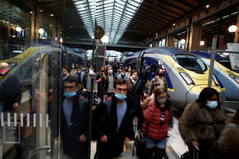 ایستگاه راهآهن گاردونور در پاریس. عکس از رویترز
