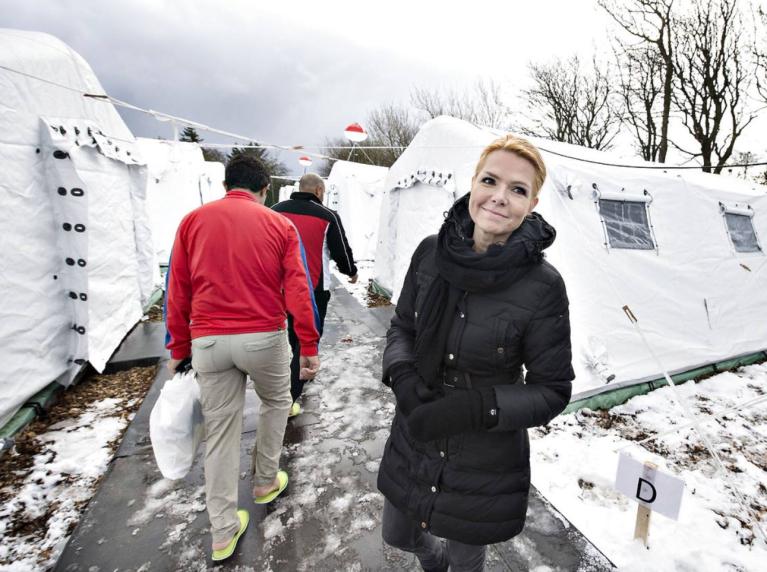 Inger Stojberg, la ministre de l'immigration danoise. Capture d'écran Facebook.