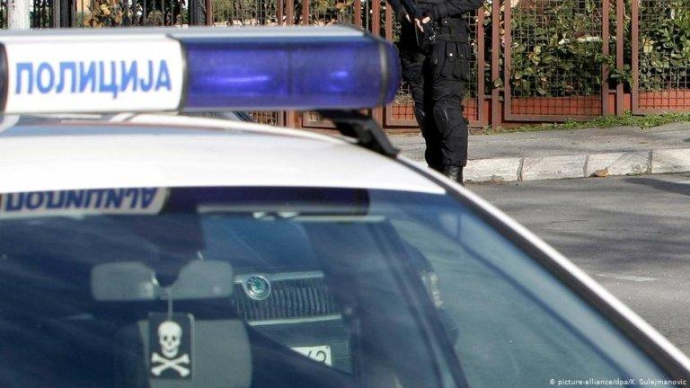 A police car in Serbia   Photo: Picture-alliance/dpa/K.Sulejmanovic