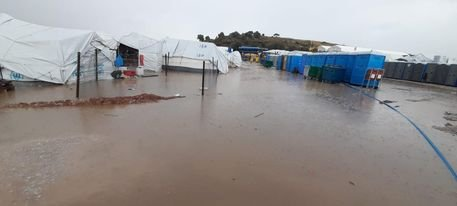Kara Tepe temporary reception facility on Lesbos, Greece, has been declared largely equipped for winter by the migration minister, Notis Mitarakis | Photo: private